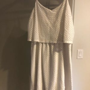 White loft summer dress